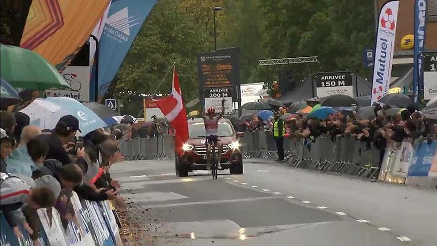 Dansk sejr i fransk cykelløb