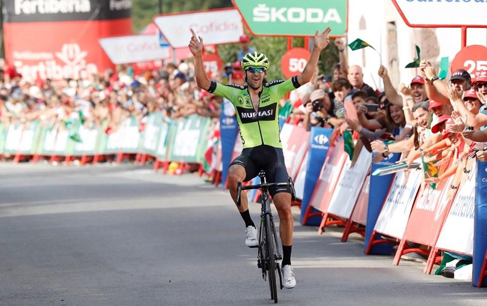 Baskisk sejr på ellevte etape i Vuelta a España