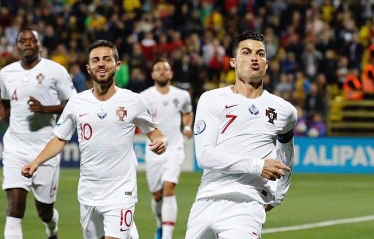 Ronaldo nu oppe på 93 landsholdsmål