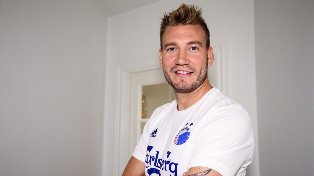 Nicklas Bendtner til FC København
