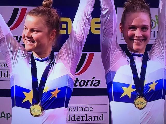 Danmark fjerdebedste nation ved bane-EM i cykling