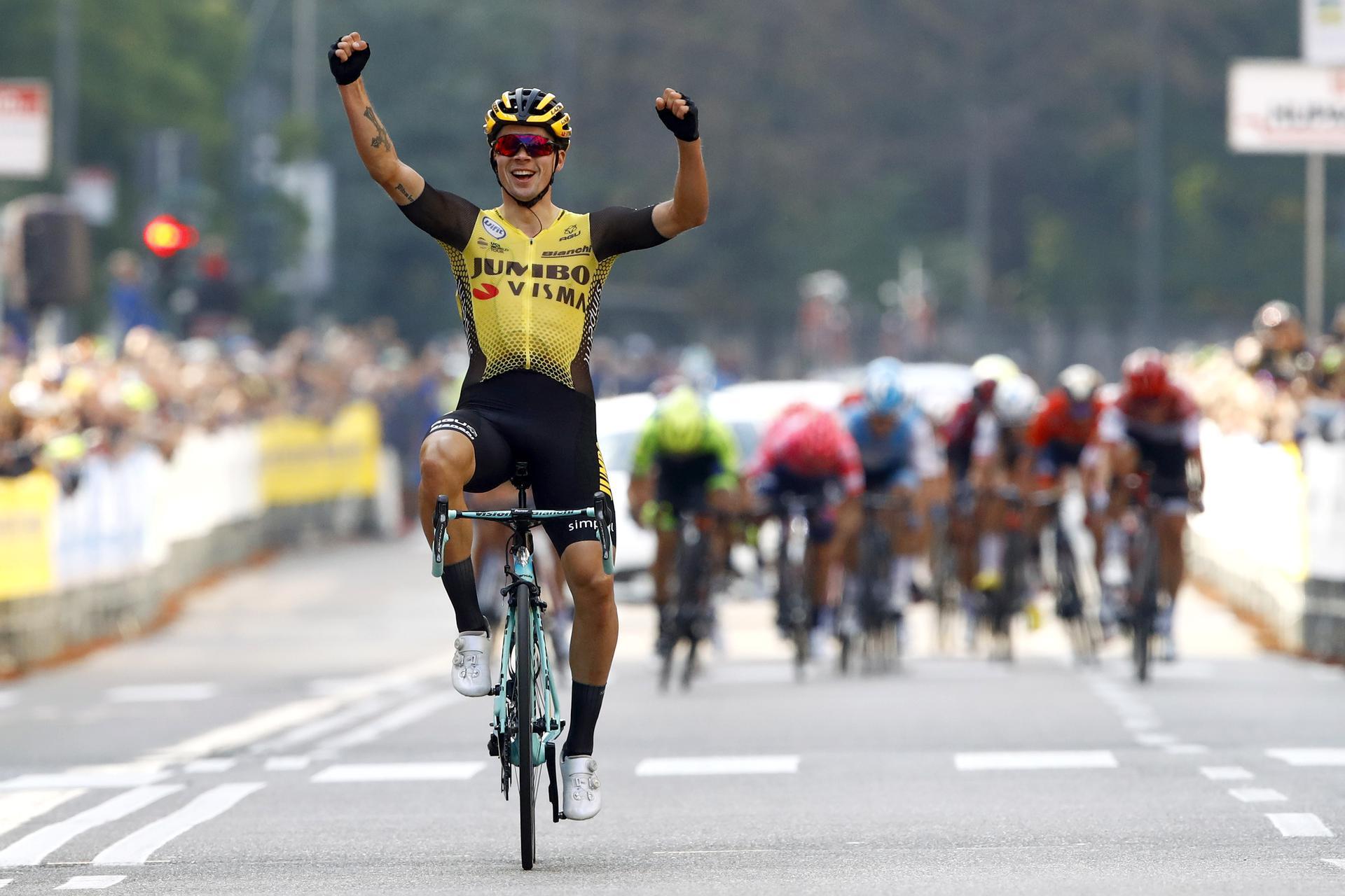 Roglic vandt Tre Valli Varesine