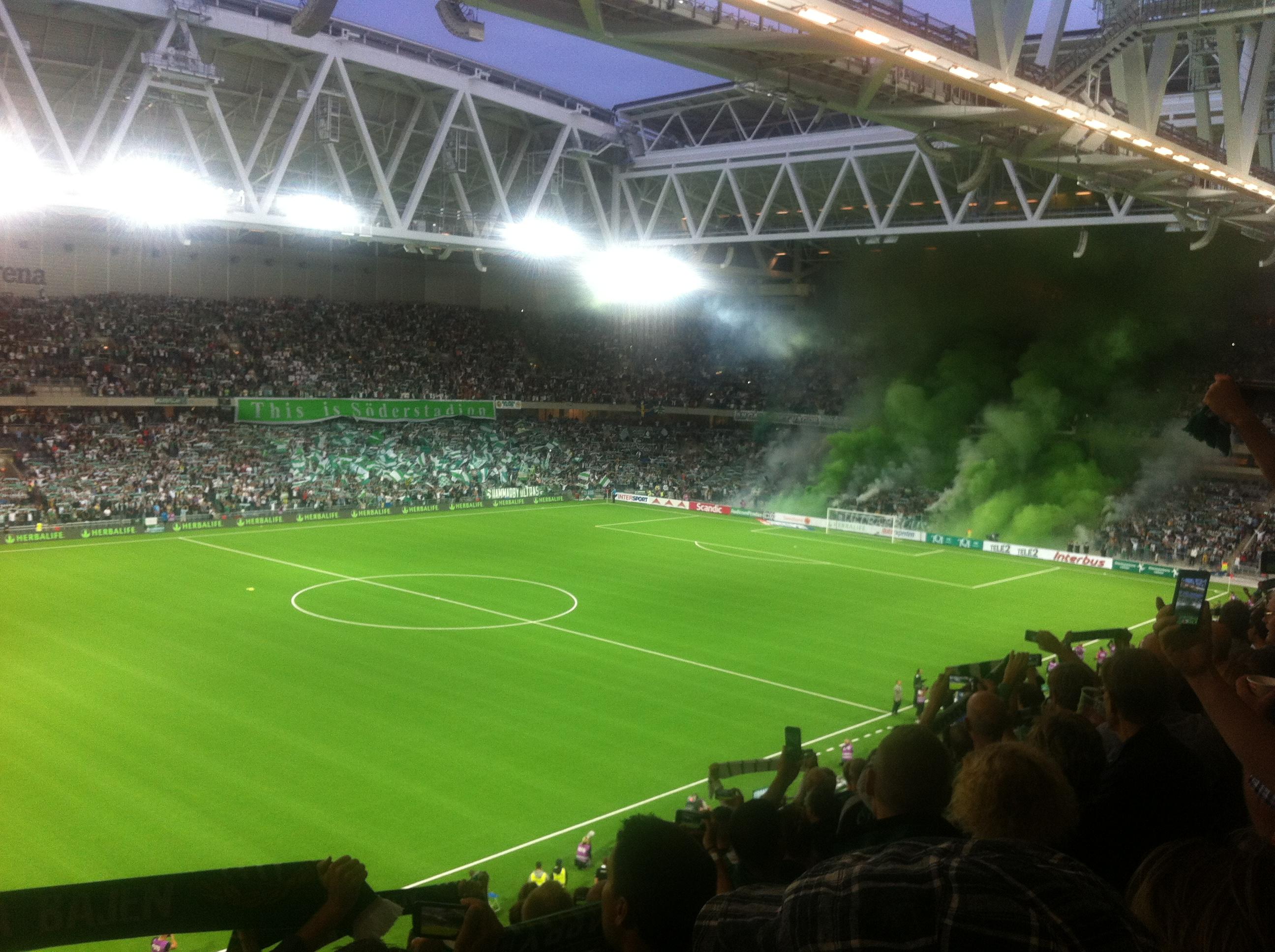 Zlatan køber sig ind i Hammarby