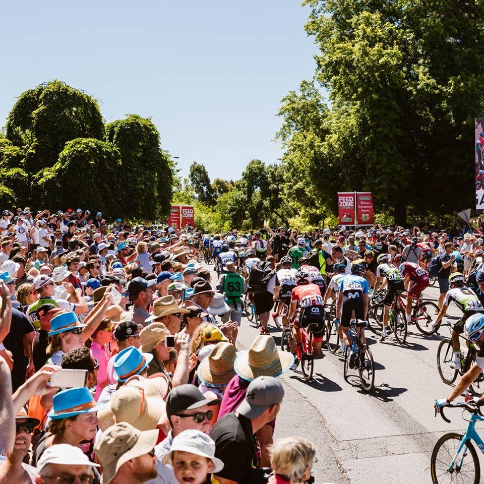 Se etaperne til Tour Down Under