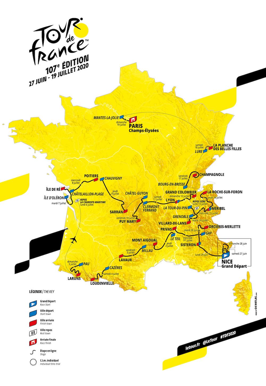Deltagende teams i Tour de France 2020