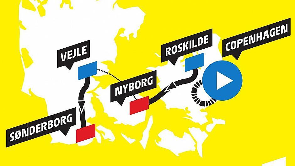 Fakta om de danske Tour de France-etaper