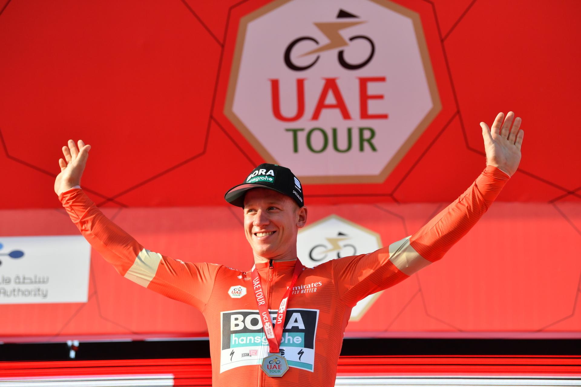 Tysk sejr på 1. etape af UAE Tour