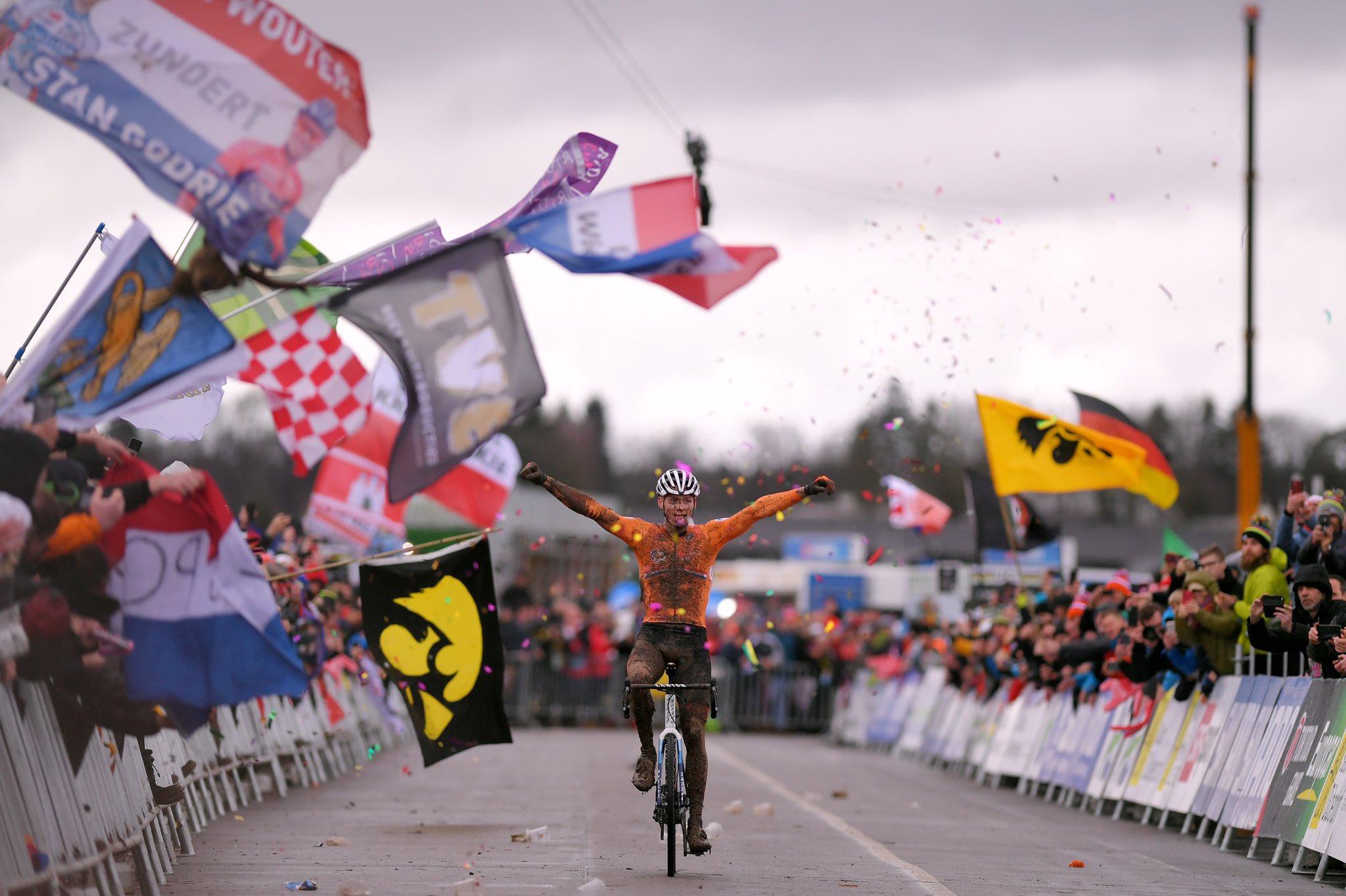 Van der Poel vandt sin tredje VM-titel