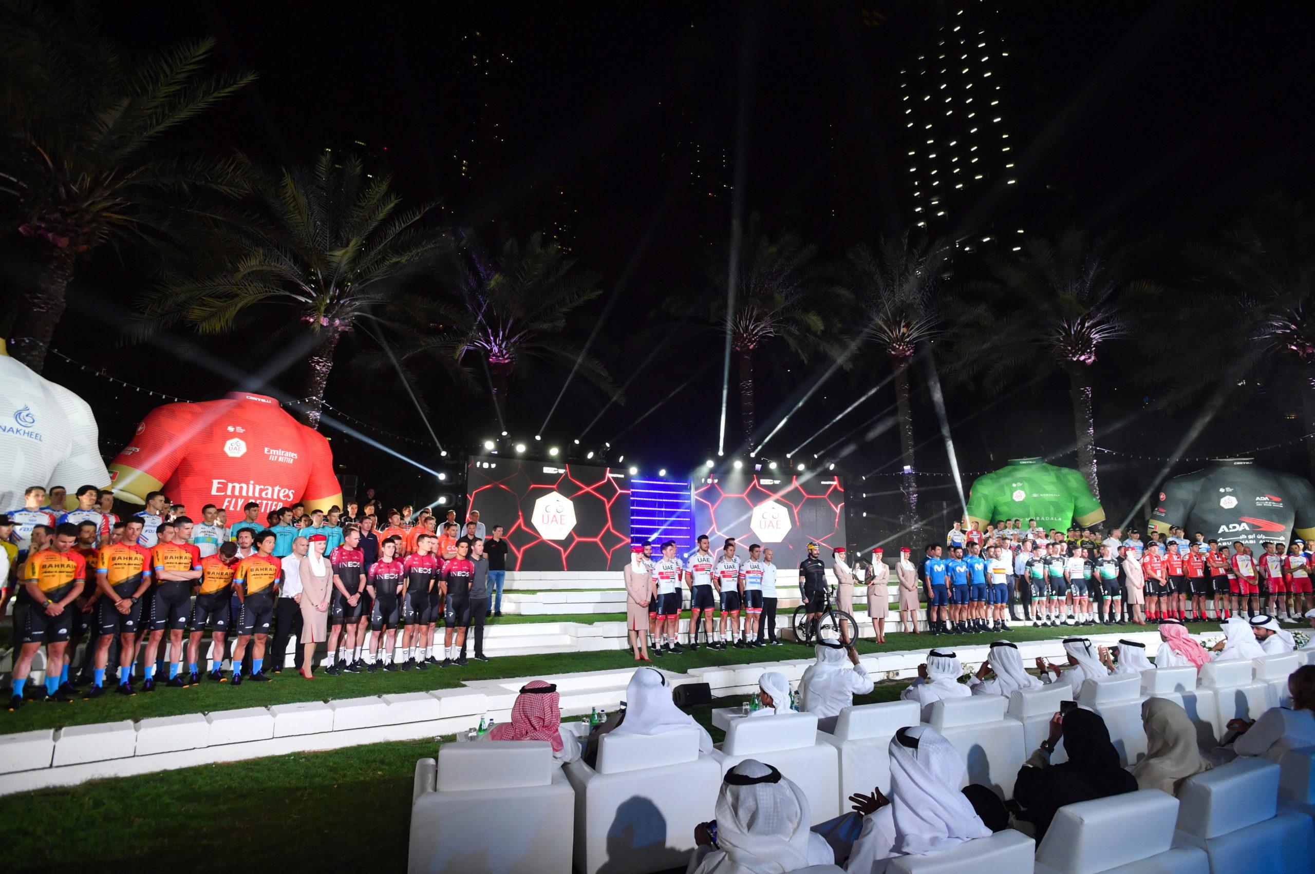 Fem danskere med i World Tour løb i Mellemøsten
