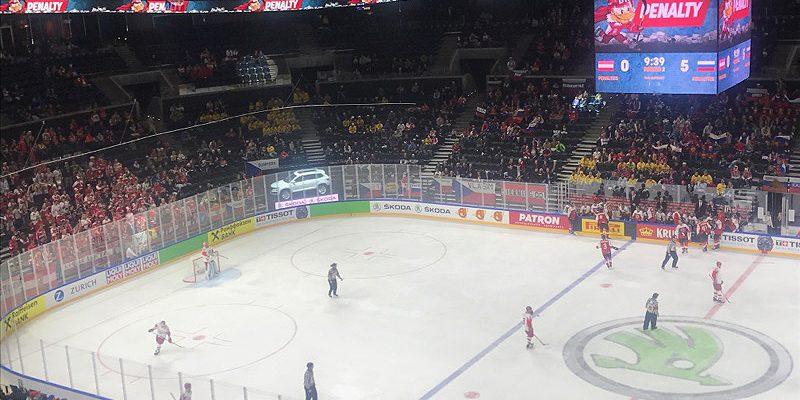 Hviderusland deltager ved VM i ishockey