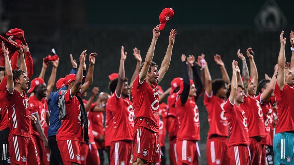 Bayern München tyske mestre for ottende år i træk