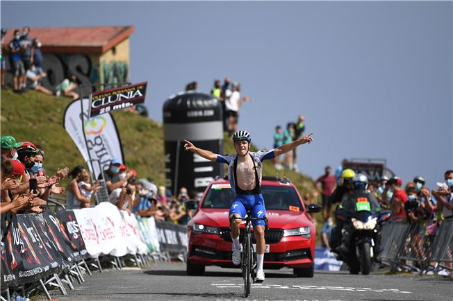 Supertalent vandt bjergetape i Burgos