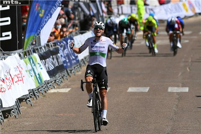Sejr til Bennett på fjerde etape i Burgos