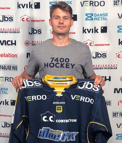 Ishockeyprofil retur til Herning