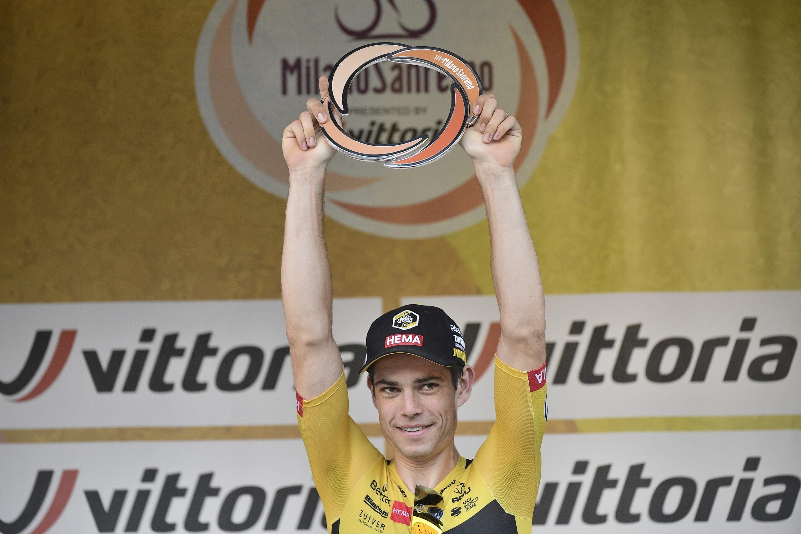 Wout van Aert vinder af Milano-Sanremo nr. 111