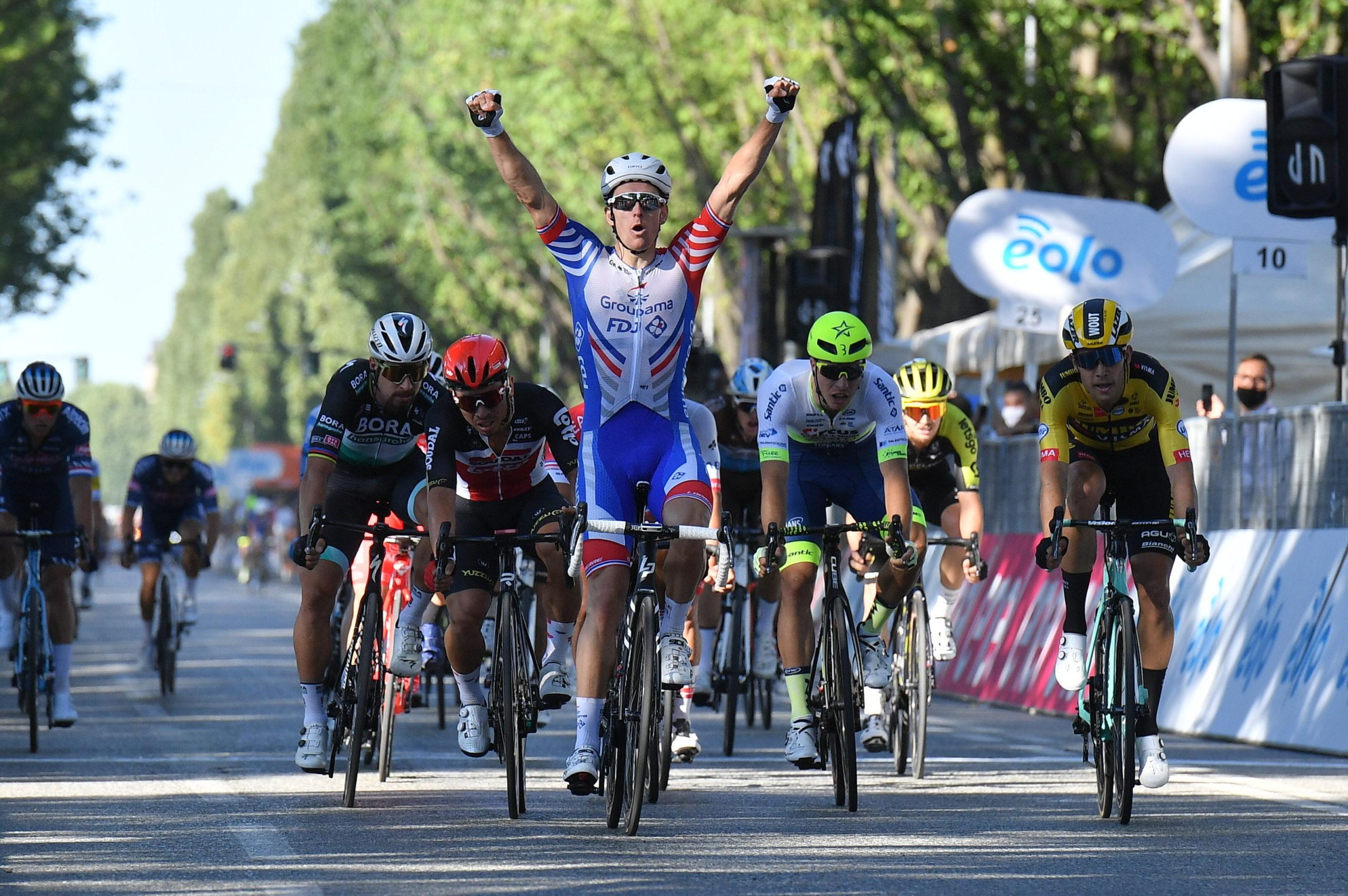 Fransk sejr i italiensk klassiker