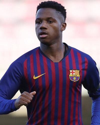 Ansu Fati yngste målscore for Spanien nogensinde