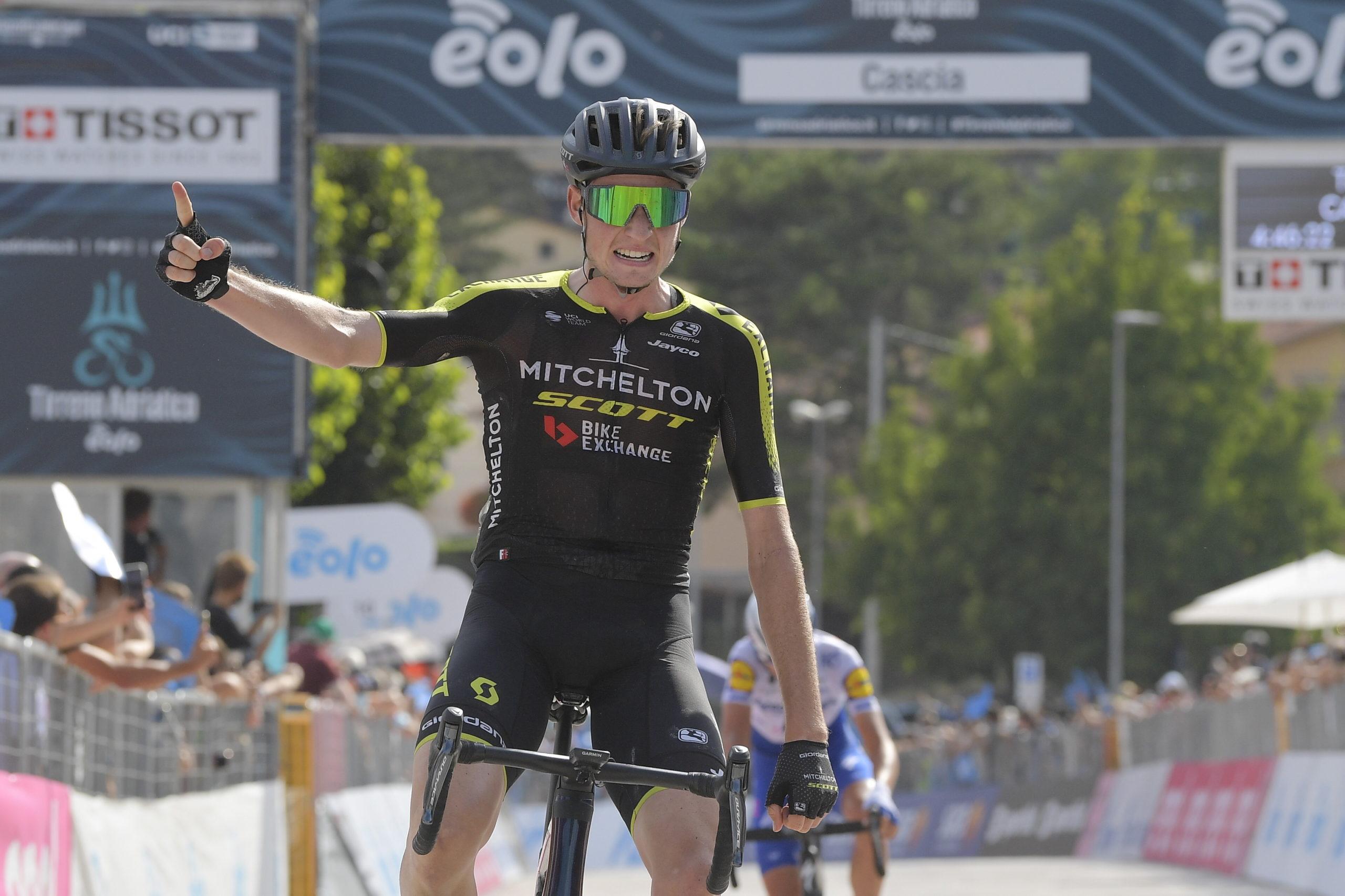 Australsk sejr på fjerde etape af Tirreno-Adriatico
