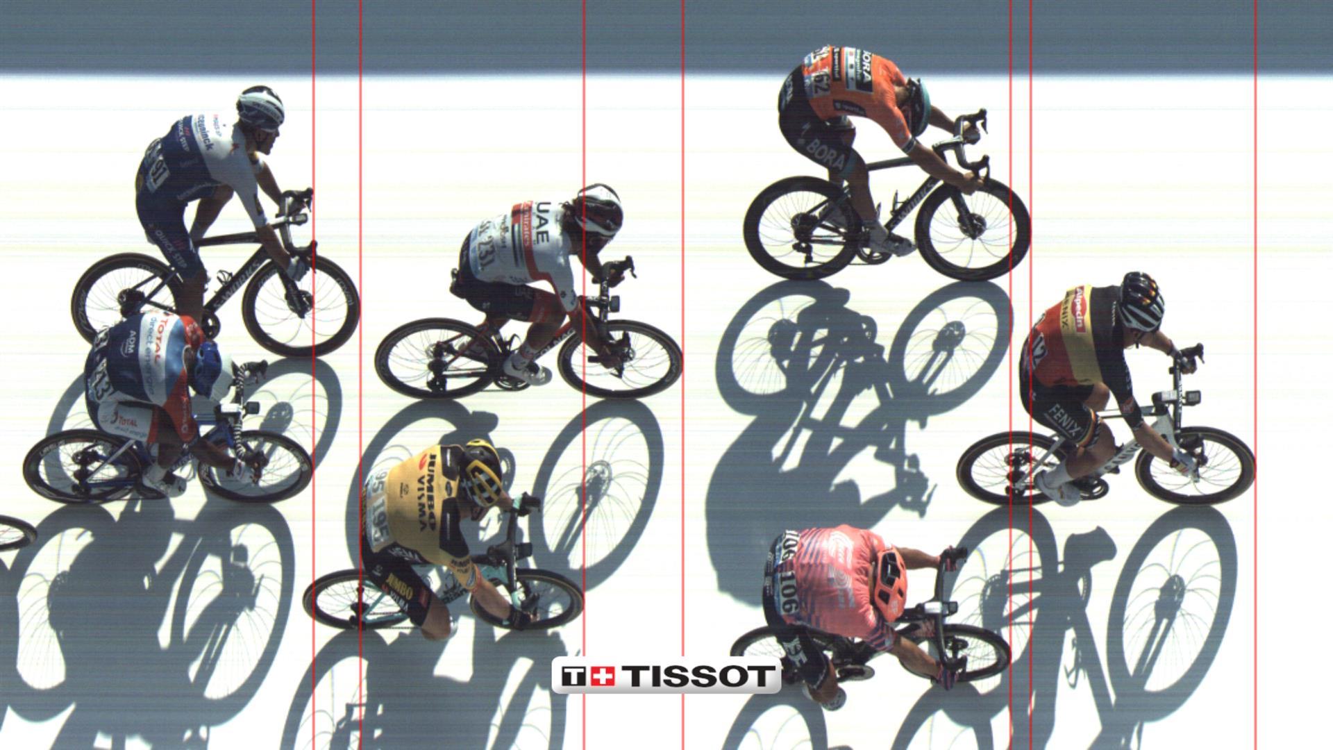 Tredjeplads til Magnus Cort på sjette Tirreno-Adriatico etape