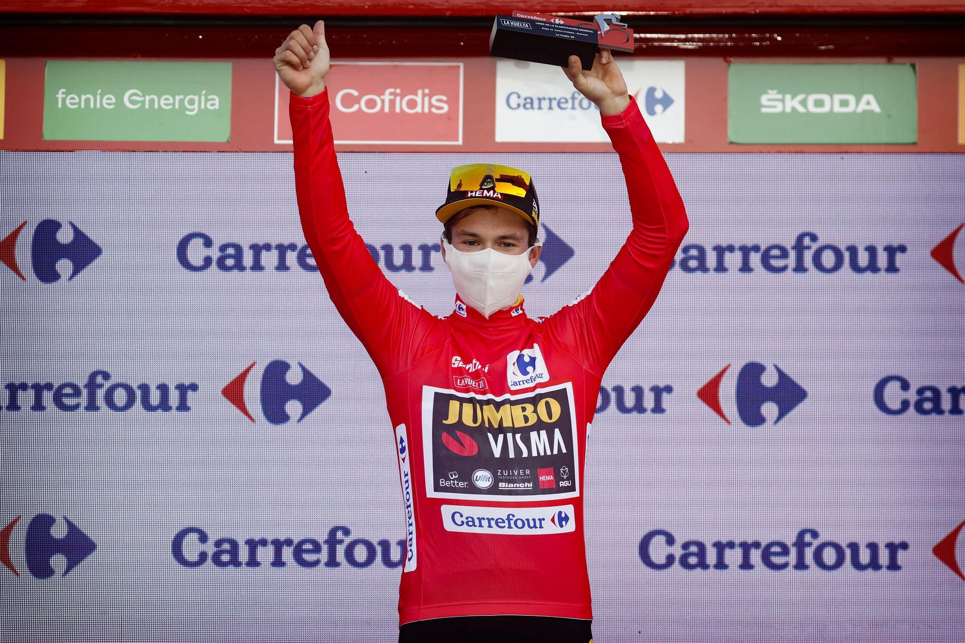 Roglič tilbage i førertrøjen i Vuelta'en