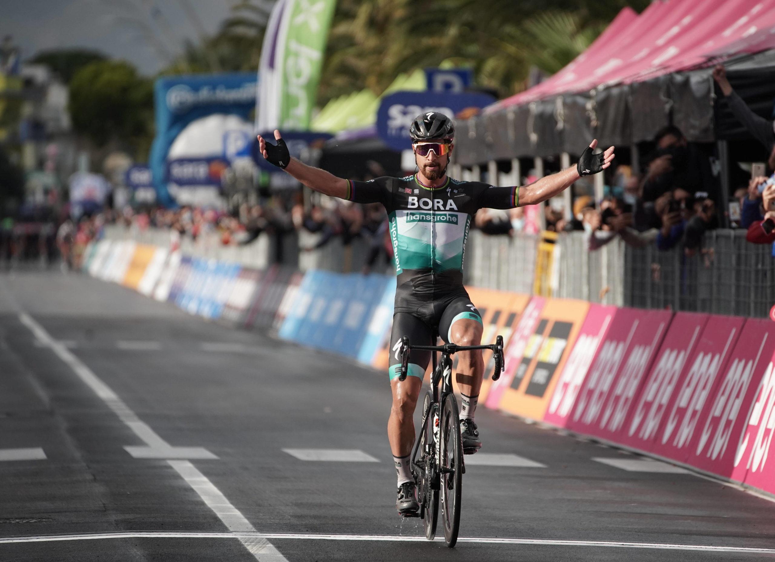 Fantastisk sejr til Peter Sagan i Giro'en