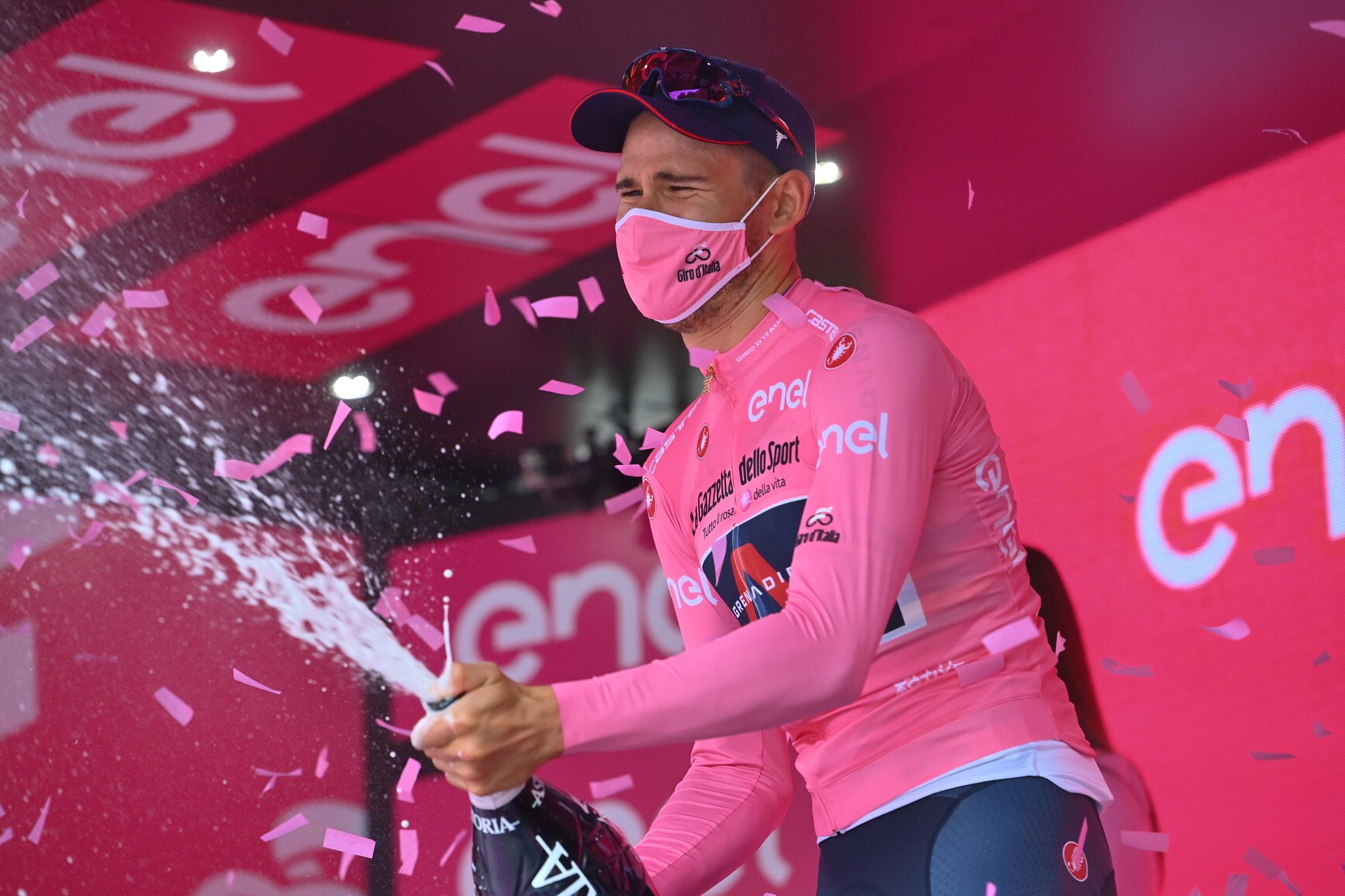 Verdensmesteren i den rosa førertrøje