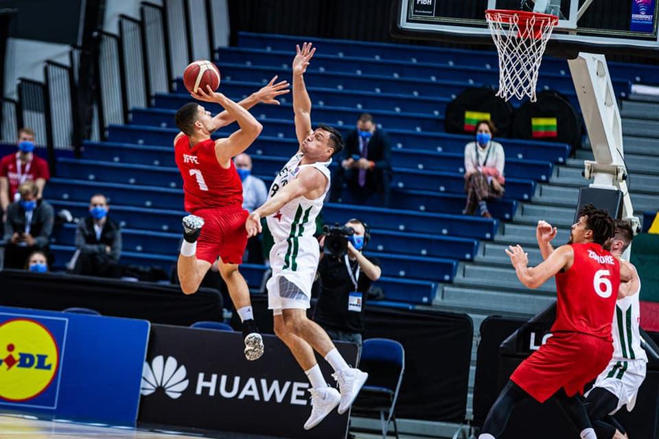 Stor sensation af det danske basketlandshold