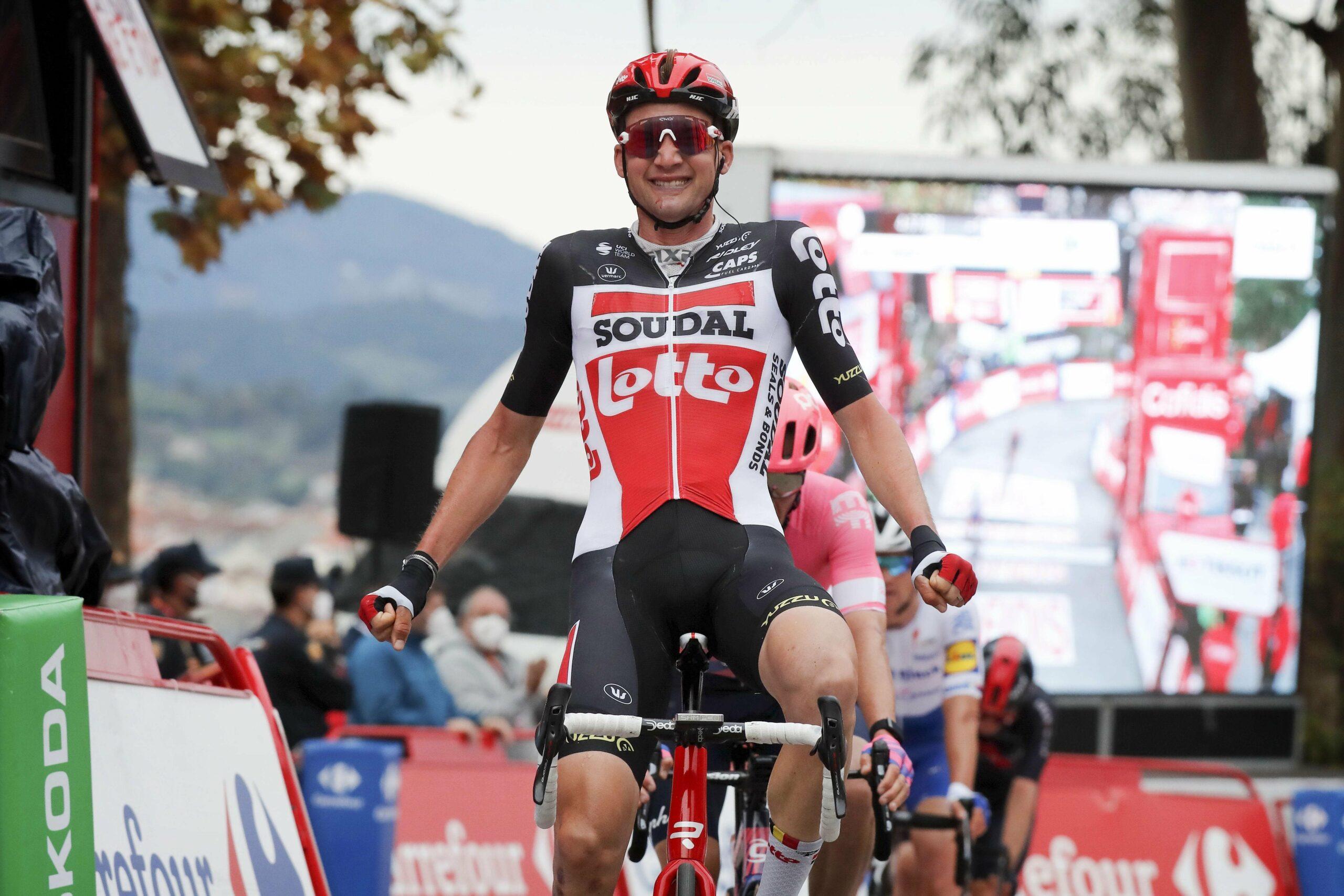 Tim Wellens-sejr på 14. etape i Vuelta a Espana. Roglič fortsat i front