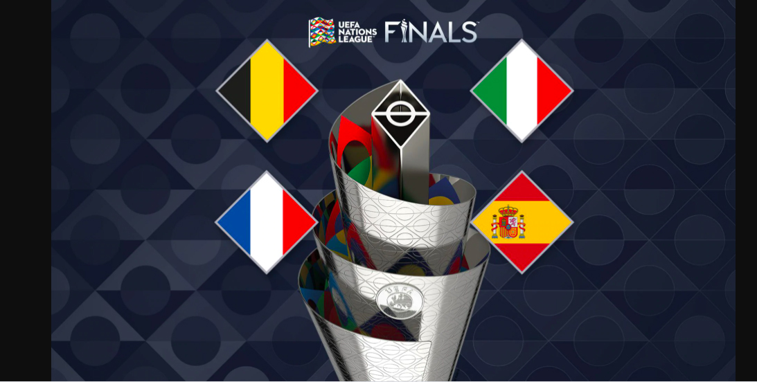 Fire store fodboldnationer klar til Nations League-slutspillet