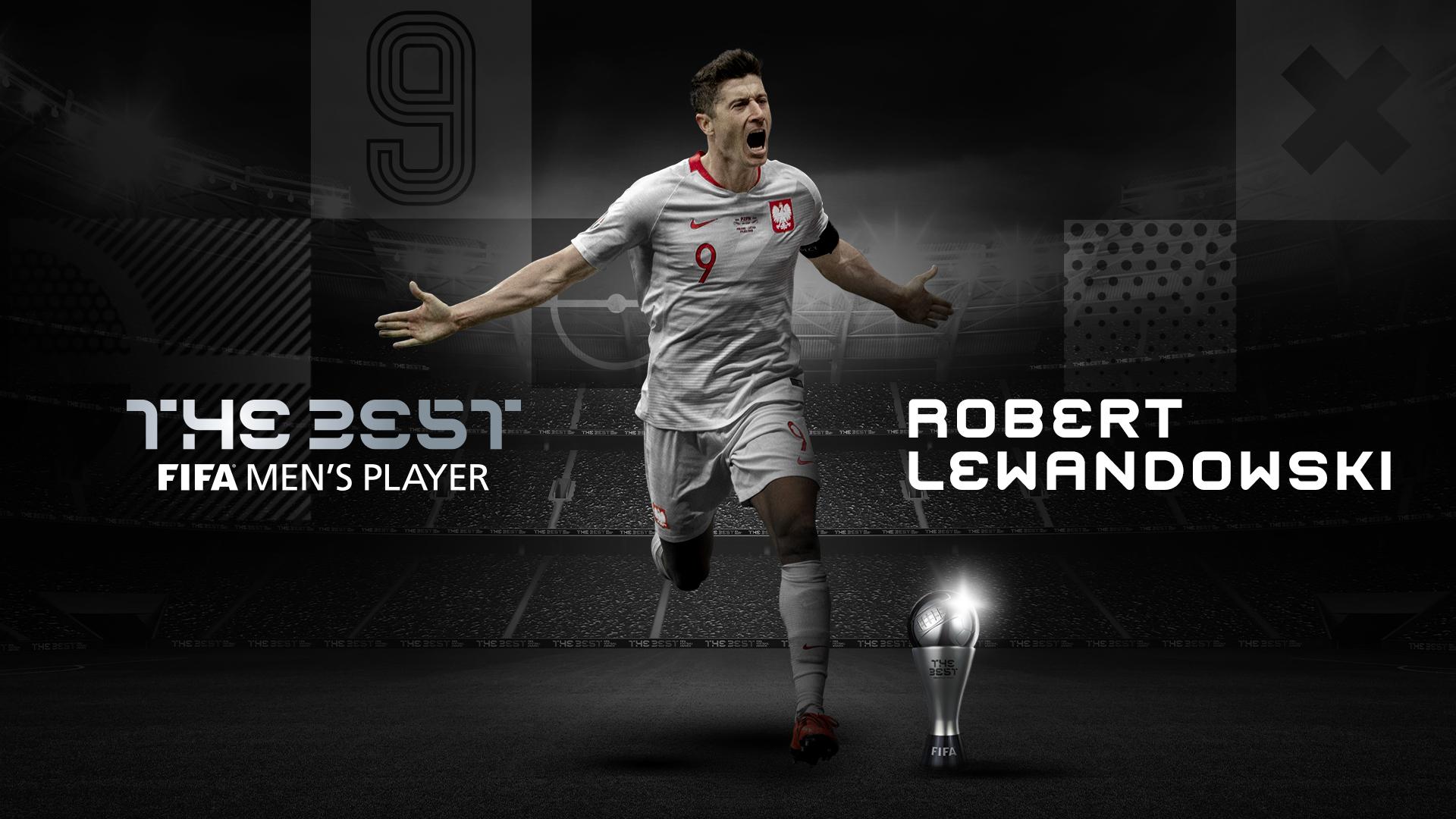 Polske Lewandowski kåret til Årets fodboldspiller 2020
