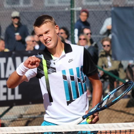 Holger Rune vandt turnering i Frankrig