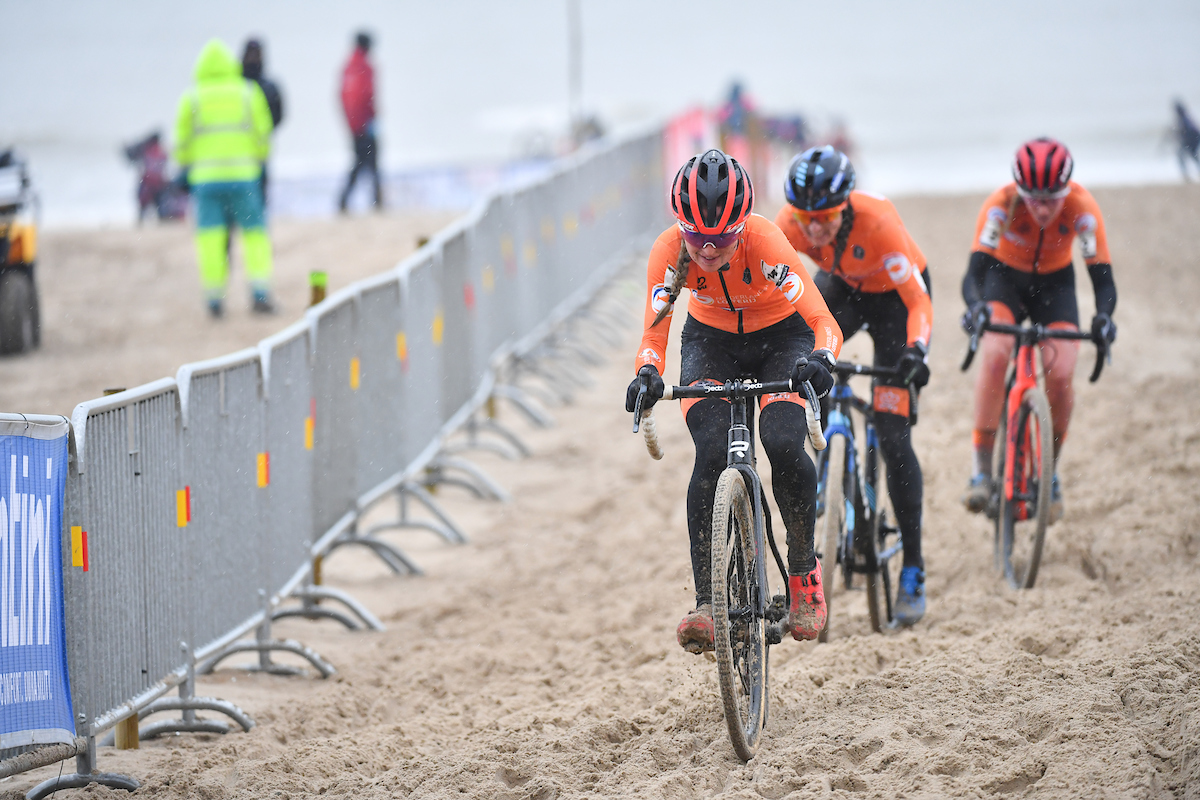 Hollandske Lucinda Brand verdensmester i cyklecross 2021