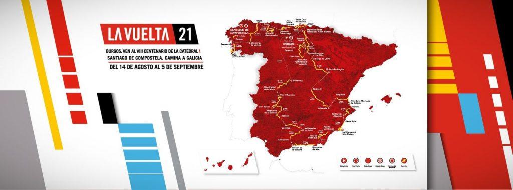 Ruten til Vuelta a España 2021 præsentere