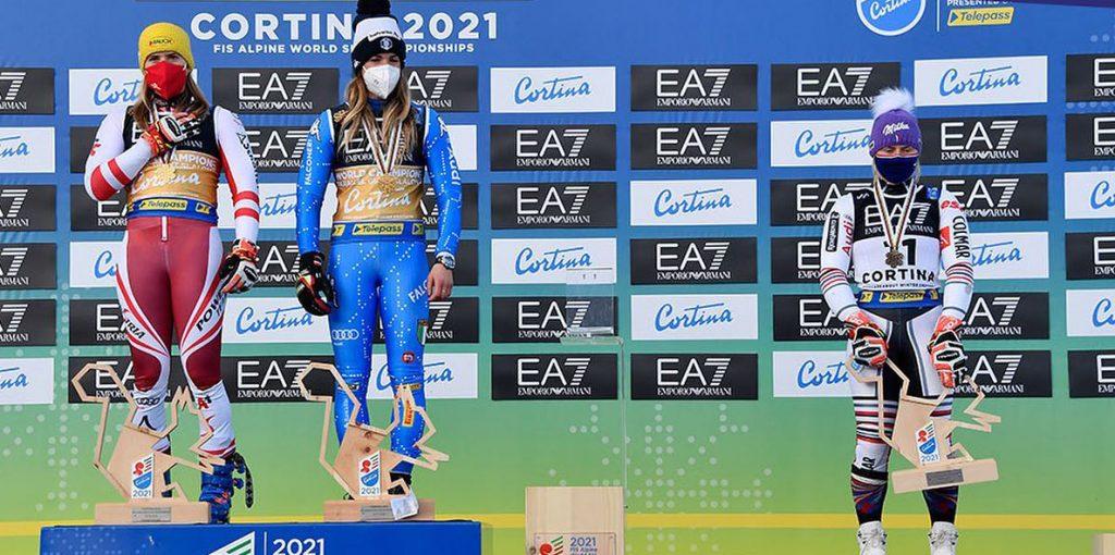 Delt VM-guld i Dolomitterne