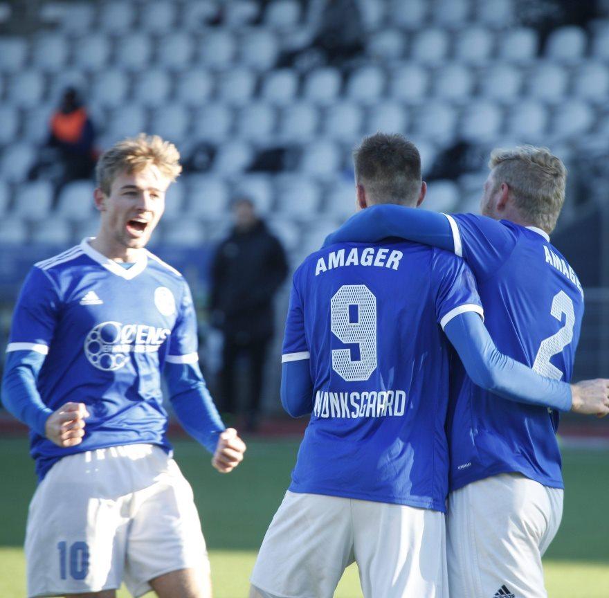 Sejre til Fremad Amager og FC Helsingør i 1. division