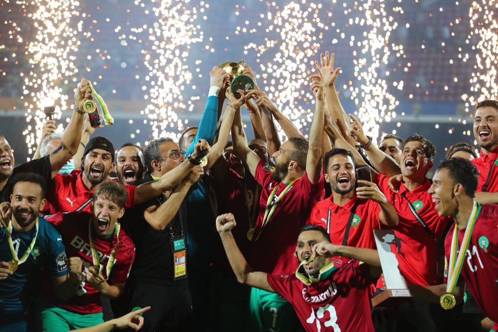 Stor triumf for Marokko