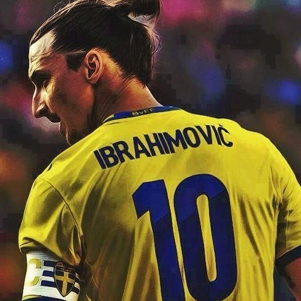 Zlatan lagde op til svensk scoring og slog rekord