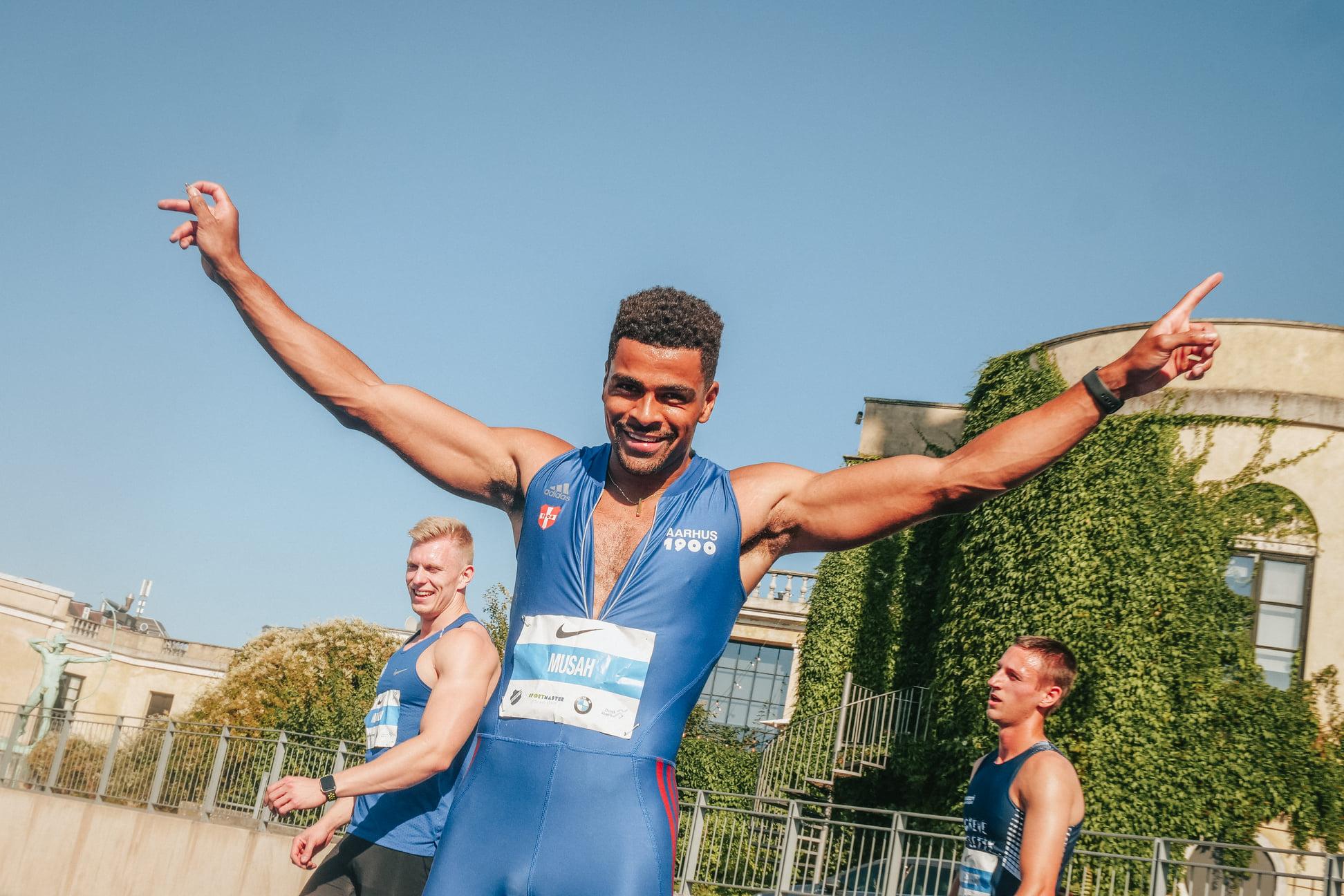 Dansk sprinter nr. otte ved EM