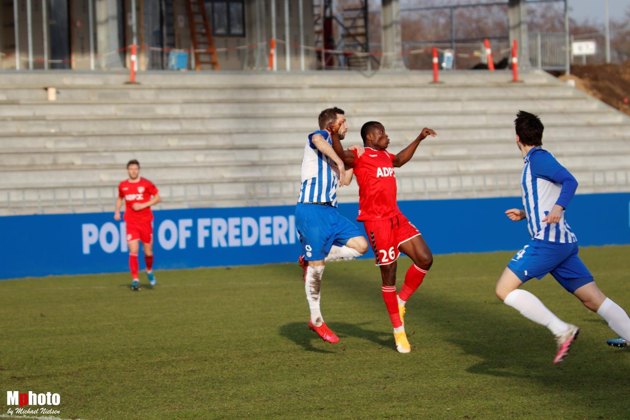 Vigtig sejr til FC Fredericia i Sundby Idrætspark