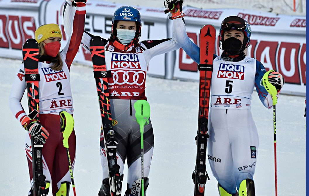 Slovakisk sejr i slalom i Åre