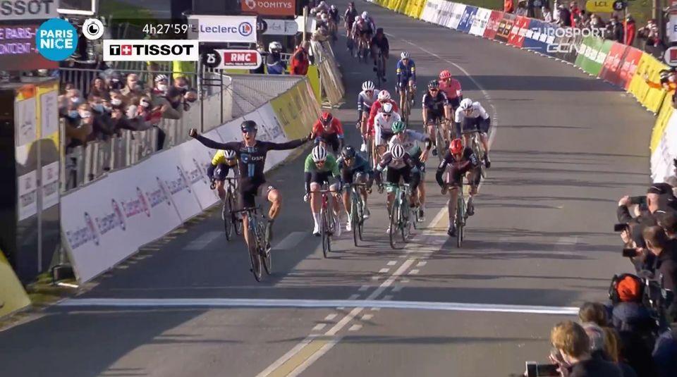 Dansk andenplads på anden etape i Paris-Nice