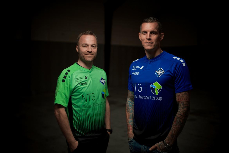 Daniel Agger og Lars Jacobsen ny trænerduo i HB Køge