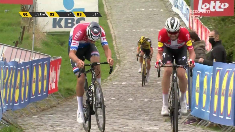 Se Kasper Asgreen vinde Flandern Rundt her