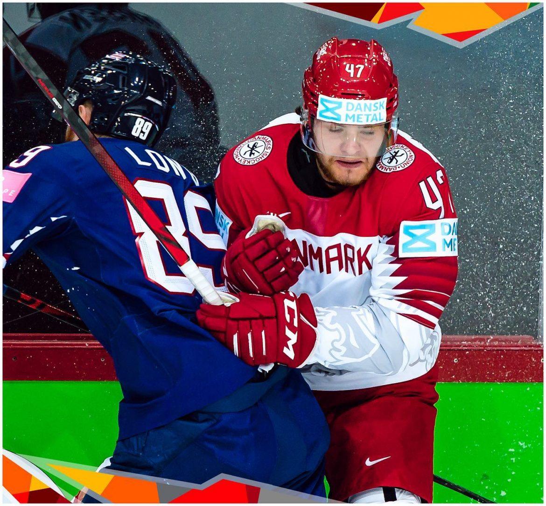 Storsejr til Sverige ved ishockey-VM. Danmark fik to point