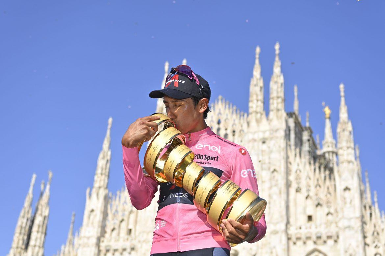 Colombianske Egan Bernal vinder af Giro d'Italia nr. 104