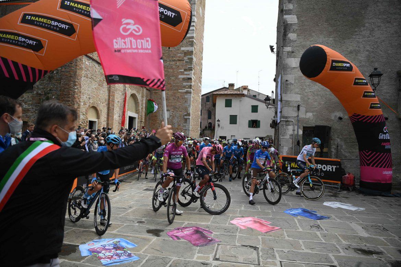 Giro'ens kongeetape forkortet