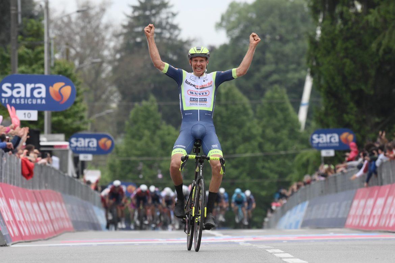 Hollandsk sejr på tredje Giro-etape