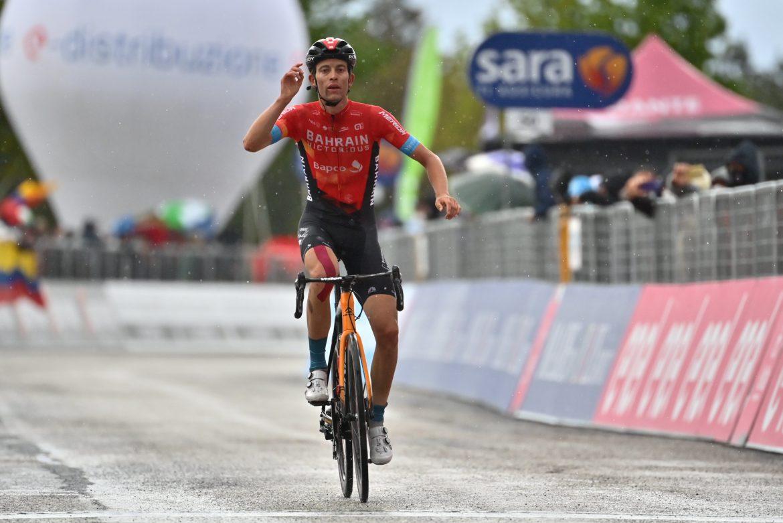 Sejr til Mäder på sjette Giro-etape. Valter blev første fra Ungarn i førertrøjen