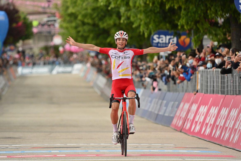 Fransk sejr på ottende etape af Giro d'Italia