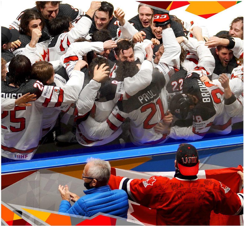Canada verdensmestre i ishockey 2021